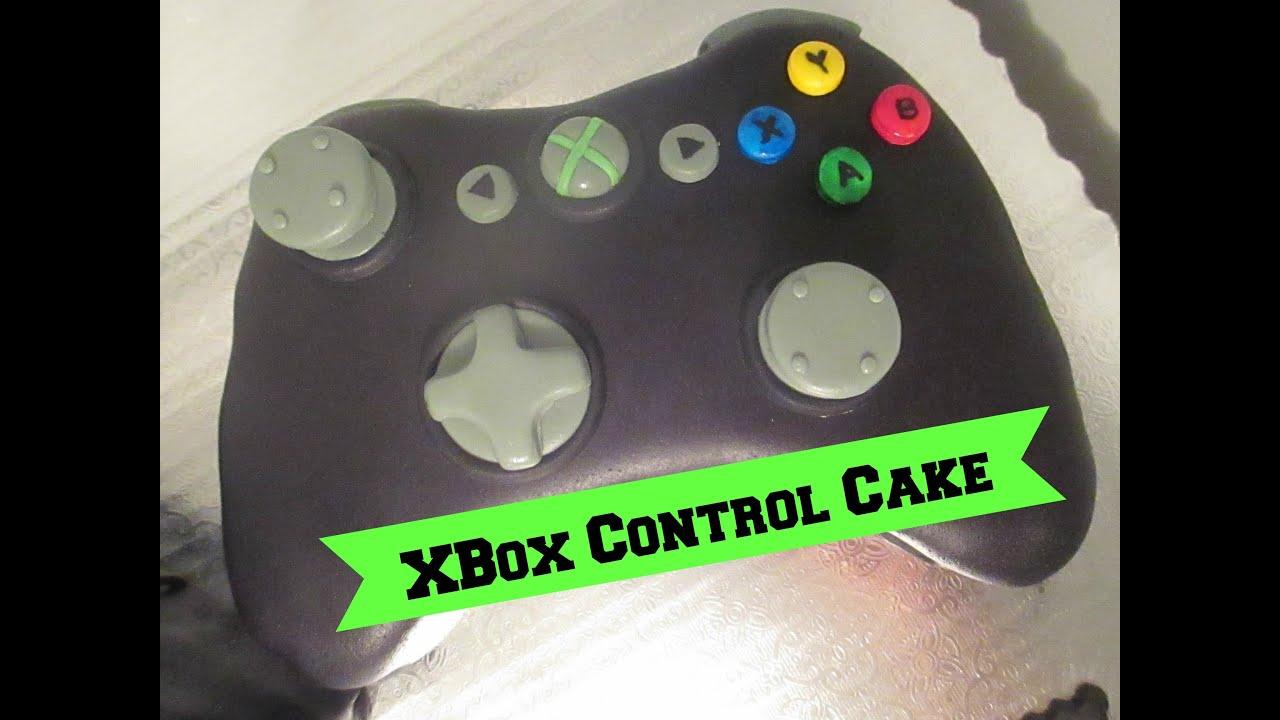 Como Hacer Un Control De X Box En Pastel Facil  YouTube