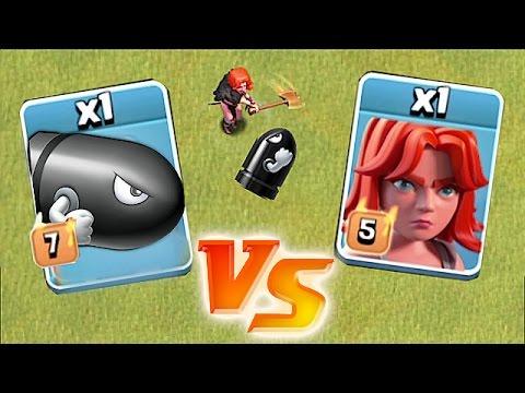 DEATH BATTLE!!🔸 VALKYRIE vs. BULLET BILL!! (LOONS)🔸Clash of clans