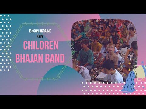 ISKCON Children Bhajan Band
