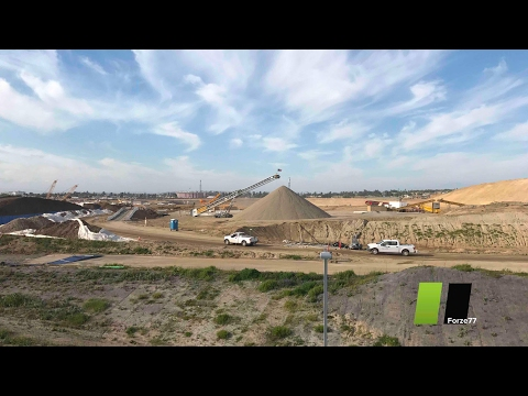 Los Angeles Rams Stadium   Cement Company on Site UPDATE# 10