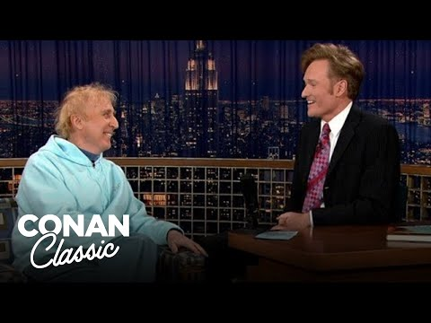 """Gene Wilder On His First & Only Argument With Mel Brooks- """"Late Night With Conan O'Brien"""""""