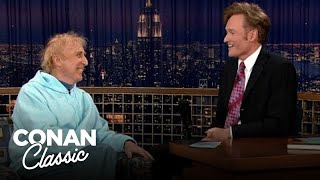 "Gene Wilder On His First & Only Argument With Mel Brooks- ""Late Night With Conan O'Brien"""