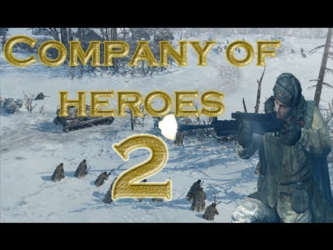 Company of heroes 2 - Multiplayer Russian Gameplay #1