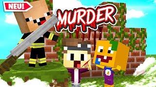 WERDE ICH ÜBERLEBEN!?😈 - Minecraft Murder Modus