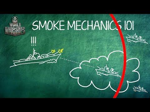 World of Warships Smoke Guide - 0.6.12 Smoke Changes
