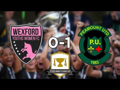 FAI Women's Cup Semi Final: Wexford Youths 0-1 Peamount United