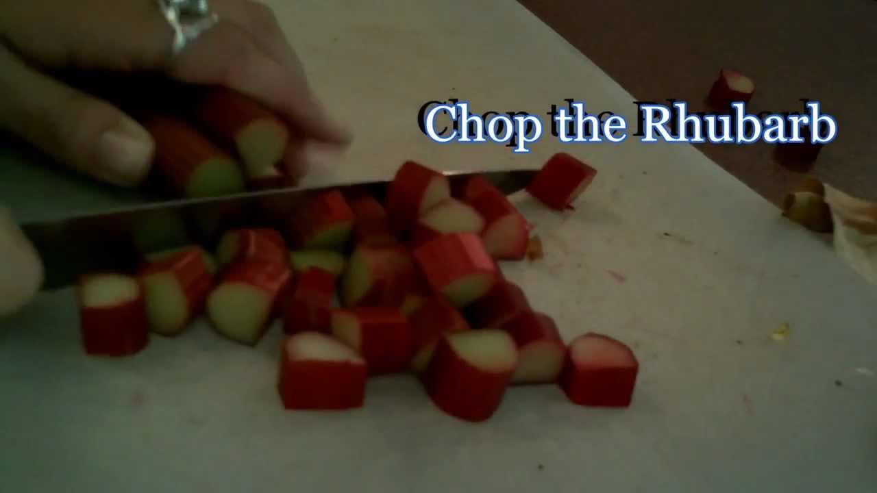 how to make rhubarb jam youtube
