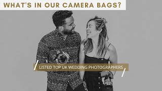 TOP UK WEDDING PHOTOGRAPHERS | WHATS IN OUR CAMERA BAGS? | PLUS MINI HOME PHOTOSHOOT | THE VEDRINES