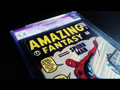 Amazing Fantasy #15 CGC 9.4 2nd Highest Copy! MUST WATCH!