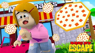 Roblox Escape The Pizza Obby With Molly!