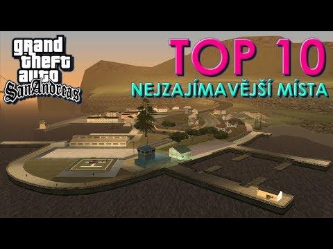 10 nejzajímavějších míst v GTA San Andreas