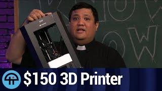 MonoPrice MP Mini Delta 3D Printer Unboxing