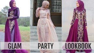 GLAM PARTY LOOKBOOK | Modanisa Dresses