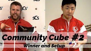 Community Cube #2 Winner and Setup at SpeedCubeShop