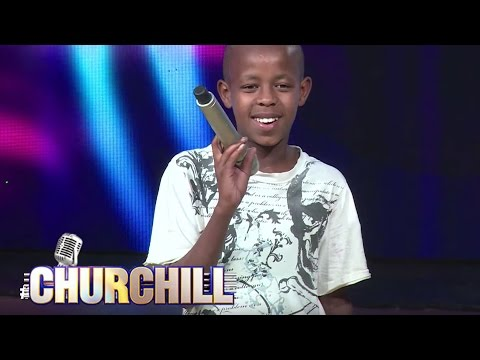 Young Juma, aspiring actor/comedian on Churchillshow