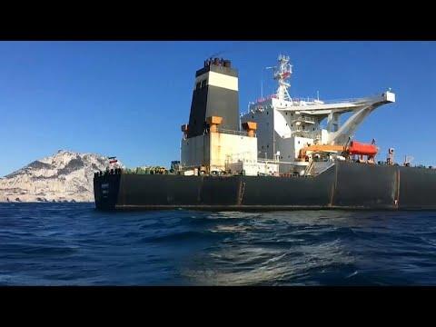 France 24:Gibraltar 'unable' to detain Iranian oil tanker despite US warrant