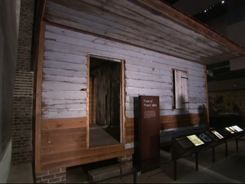 Once a Slave Cabin, Woman's Home Now in Museum