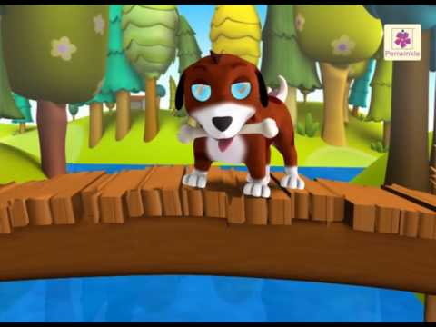 A Greedy Dog | A 3D English Story for Children | Periwinkle | Story 2