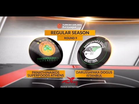 Highlights: Panathinaikos Superfoods Athens-Darussafaka Dogus Istanbul