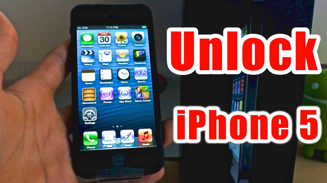 how to unlock an iphone 5 how to unlock iphone 5 works for all versions 2319