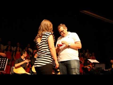 PAÜ Öğretim Görevlisi THM Konserinde Evlilik Teklifi Yaptı