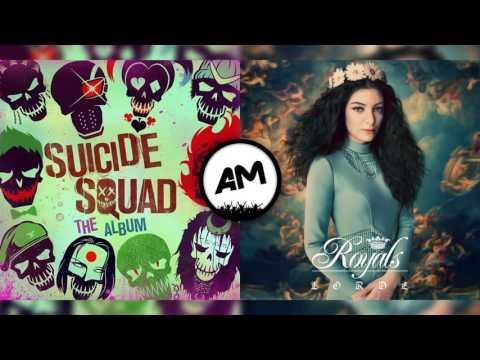 Twenty One Pilots Vs Lorde - Heathens royals (Mashup)