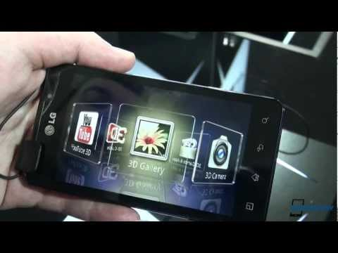 MWC: LG Optimus 3D Max Hands-On