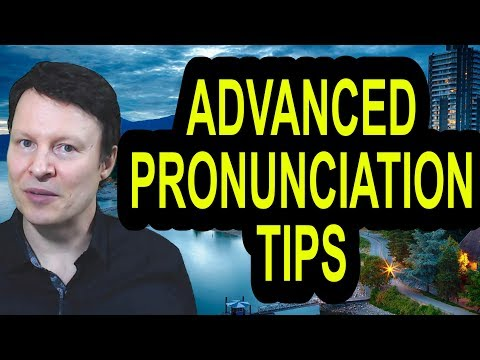 Advanced American Pronunciation tips and practice  Learn English live with Steve Ford