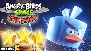Angry Birds Space Beak Impact 3 STAR 8-5 To 8-15 Walkthrough All Level