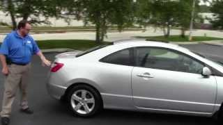 Used 2006 Honda Civic EX Coupe for sale at Honda Cars of Bellevue...an Omaha Honda Dealer!