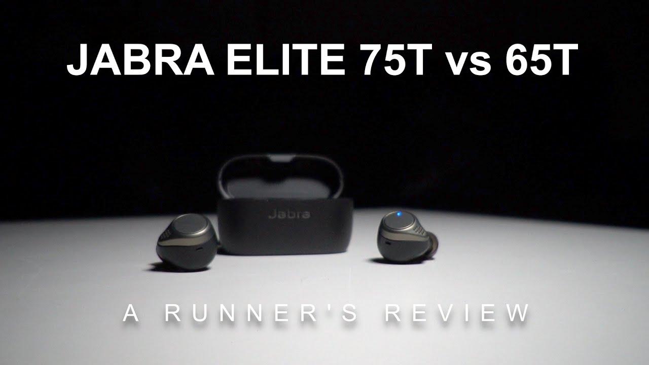 Jabra Elite 75t Vs Elite 65t A Runner S Review Youtube