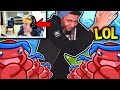 watch he video of NINJA REACTS TO MYTH'S PON PON DANCE ATTEMPT! HE FAILS! Fortnite SAVAGE & FUNNY Moments