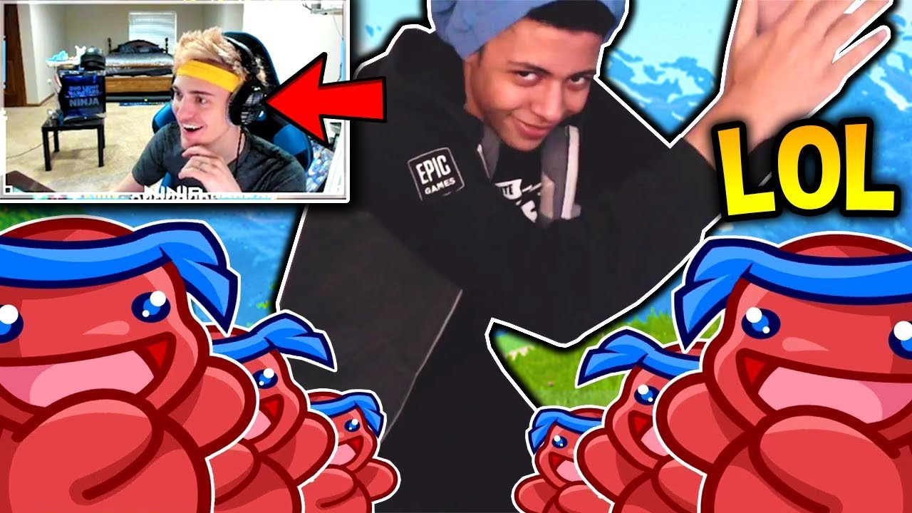 ninja reacts to myth s pon pon dance attempt he fails fortnite