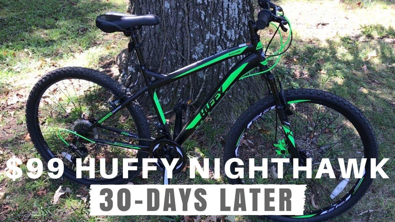 $99 Huffy Nighthawk ATB - 30 days and 50 miles with a Walmart bike