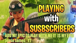 Playing With Subs Pubs ! Fortnite live | Giveaway At 1k #RoadTo1k #Gaming #Fortnite #PS4Live