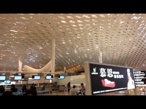 New airport of Shenzen. Amazing huge!