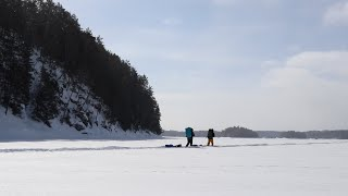 Ice Fishing & Winter Camping In Temagami
