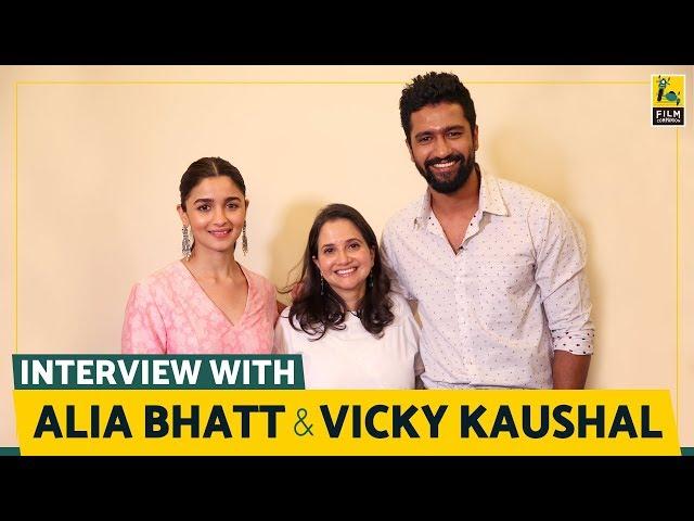 Alia Bhatt and Vicky Kaushal Interview with Anupama Chopra | Raazi | Film Companion