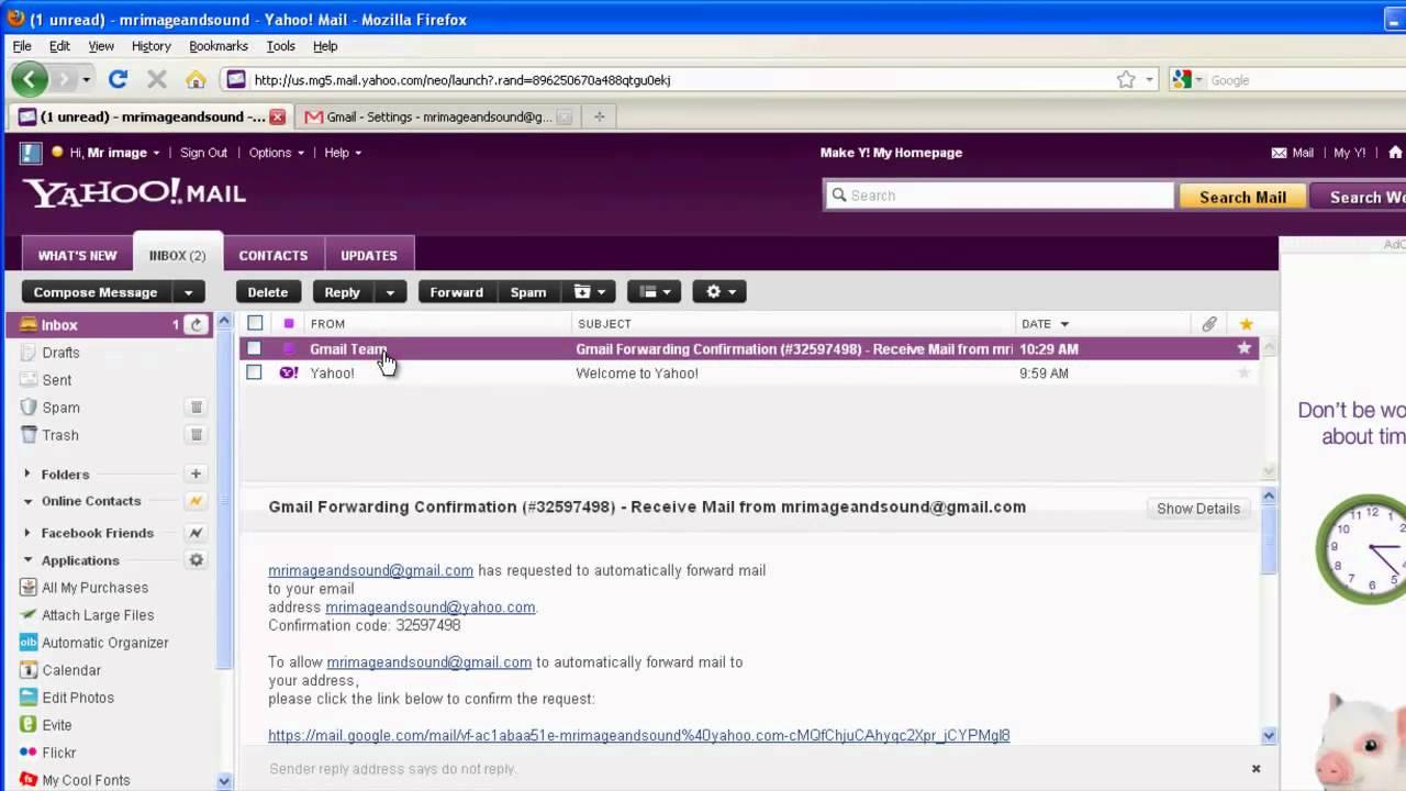 Webmail Yahoo