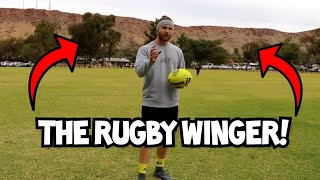 How To Play On The Wing In Rugby League | Skills & Positioning Tutorial Video