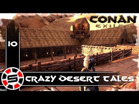 Scryptar Plays: CONAN EXILES ep10 ~ Building The Roman Villa #2