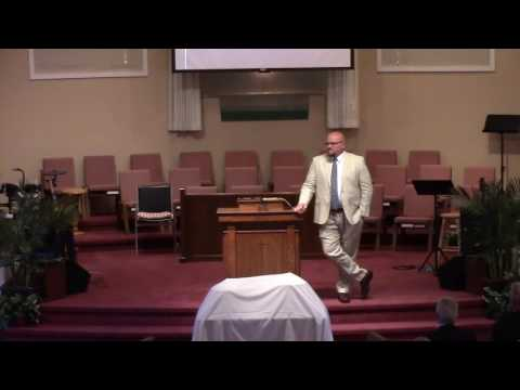 Sermon -- Chris Walls -- June 5, 2016