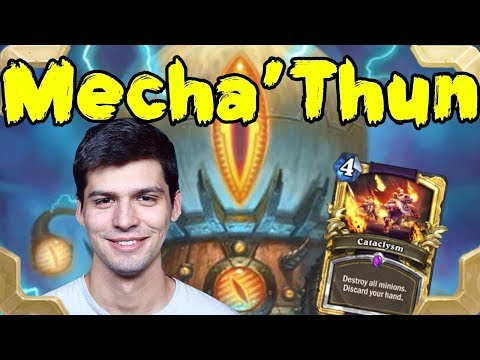 Dog with a Mecha'thun warlock deck (Rastakhan's Rumble)
