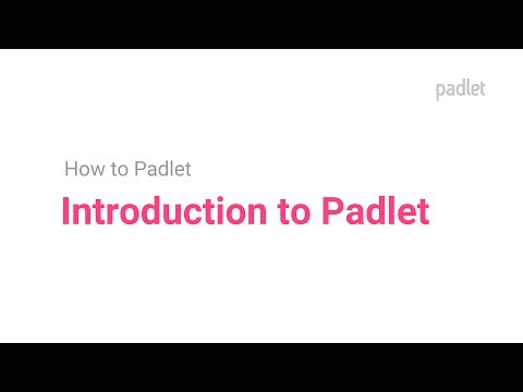 Introduction to Padlet