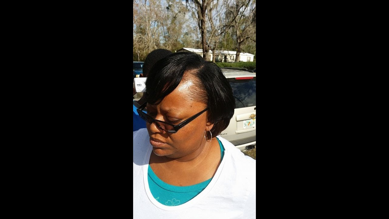 Pronto Short Quick Weave Tutorial Duby Hair Youtube