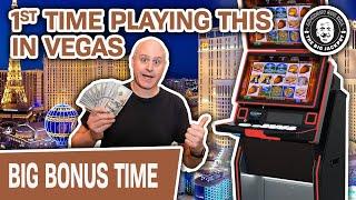 ⚠ CRAZY BONUS ALERT! ⚠ My FIRST TIME Playing This Slot Machine In LAS VEGAS!