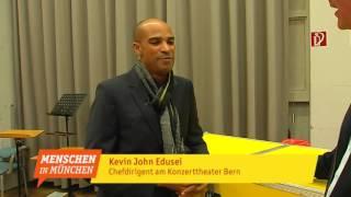 Kevin John Edusei - Chefdirigent der Münchner Symphoniker - Menschen in München