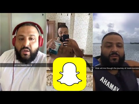 DJ KHALED SNAPCHAT  COMPILATION