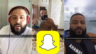 DJ KHALED SNAPCHAT VIDEO COMPILATION