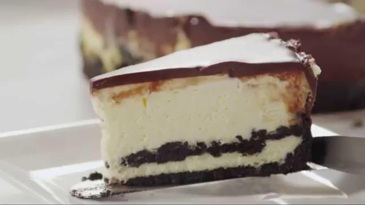 How to Make Chocolate Cookie Cheesecake   Cake Recipes   Allrecipes.com - YouTube
